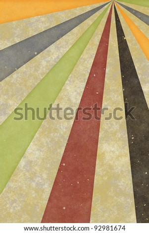 Abstract vintage background of swirling stripes - stock photo