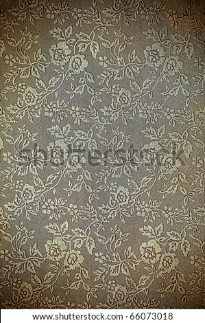 abstract vintage flora pattern for background - stock photo