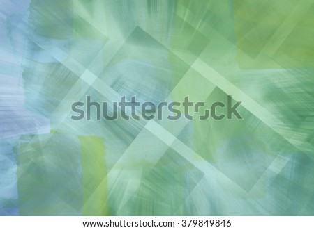 abstract vintage green background with geometry - stock photo