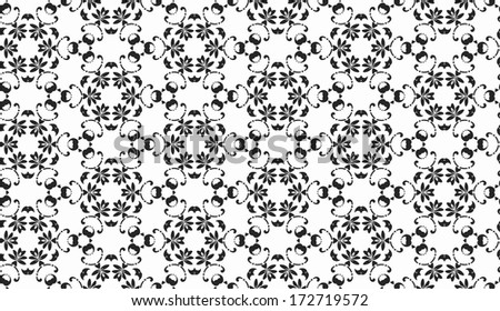 abstract vintage ornament seamless pattern
