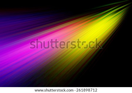 Abstract Vivid Color Background with motion blur effect