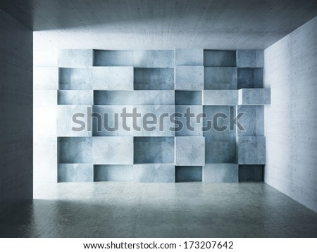 abstract wall background of interior