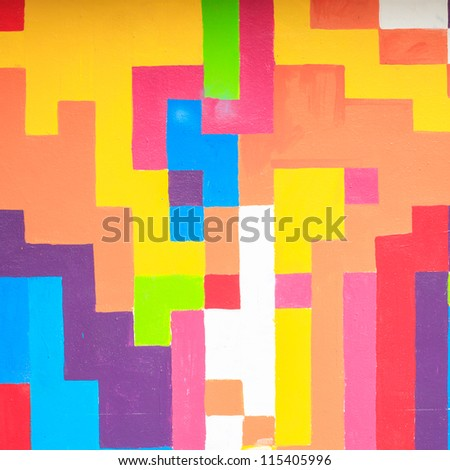 abstract wall color - stock photo