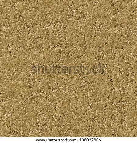 Abstract wall plaster texture. Seamless tiling. Illustration.