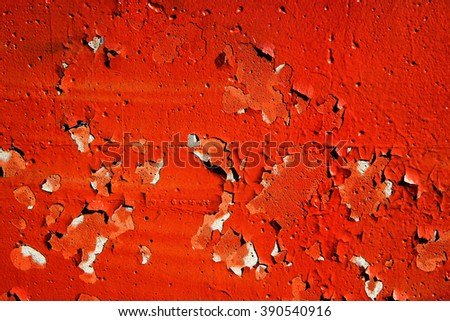 Abstract wallpaper grunge background rusty artistic wall peeling paint. Art abstract wallpaper.  - stock photo