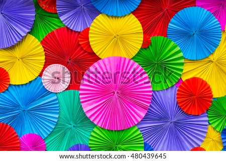 Abstract Wallpaper Rainbow Colorful Paper Pattern Background
