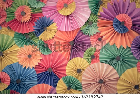 Abstract wallpaper rainbow colorless paper background - stock photo