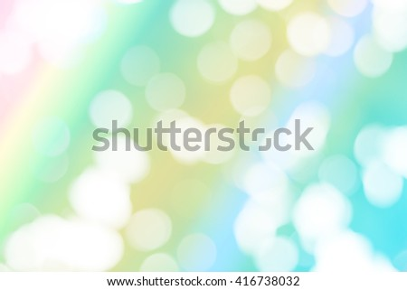 Abstract wallpaper with natural bokeh. Fresh color background.