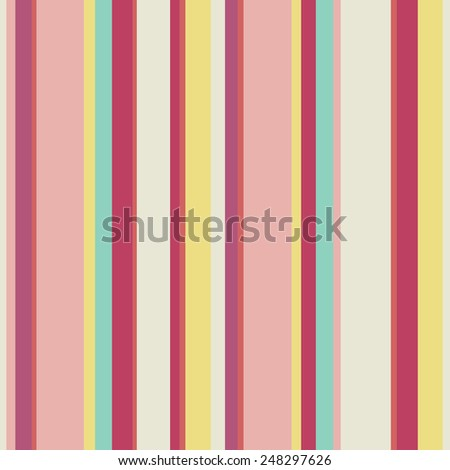 Abstract  wallpaper with strips. Seamless colorful background with red, pink and yellow colors