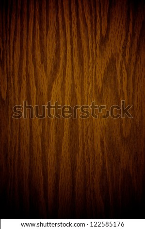 Abstract Warm Brown Wood Texture - stock photo