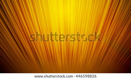 Abstract warm orange background with swirl waves. - stock photo