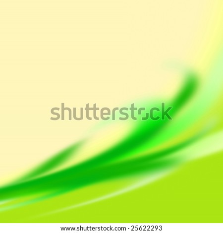 abstract wash away background from green sheet