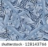 abstract water and ice background - stock photo