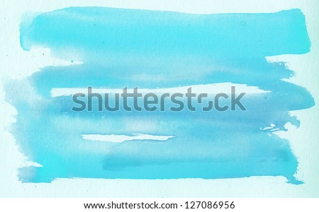 Abstract water color art - stock photo