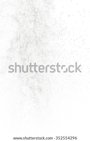Abstract water drops on a white background. Texture of water. Elements of design. Humidification. Shower. Watering. Refreshing. Drip irrigation. - stock photo