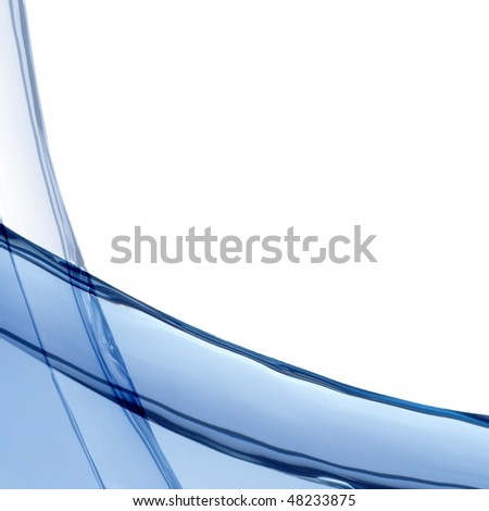 Abstract water illustration useful as a background