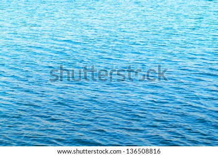 Abstract water surface can be used for background. - stock photo