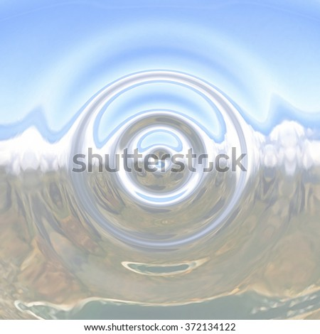 Abstract water texture - stock photo