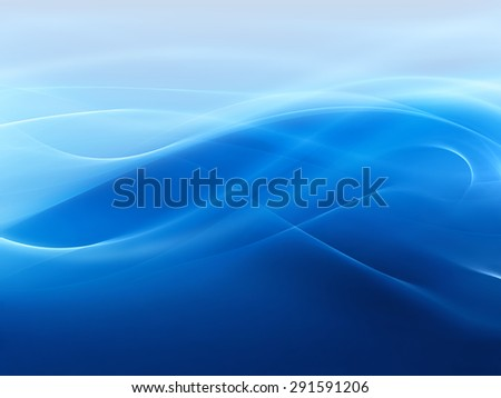 abstract water wave - computer generated  for your projects - stock photo