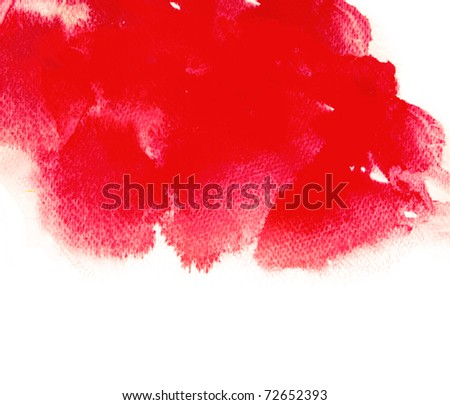 Abstract Watercolor - stock photo