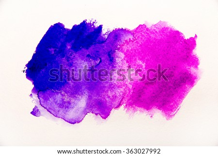 Abstract watercolor background,vector illustration, stain watercolors colors wet on wet paper. - stock photo