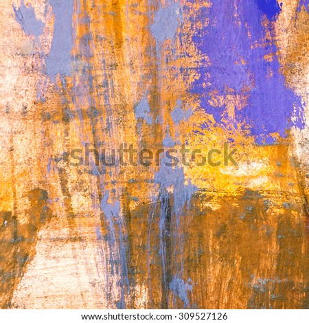 abstract watercolor background with colorful brush strokes on paper texture