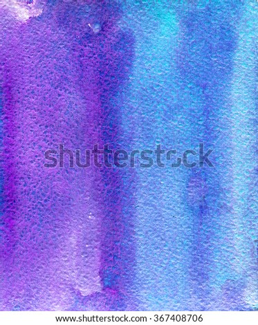Abstract watercolor hand paint texture.