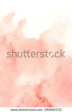 Abstract watercolor illustration. Watercolor painting on paper. Abstract background. - stock photo