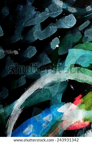 abstract watercolor like background - stock photo