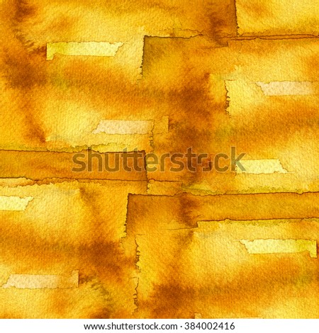 Abstract watercolor pattern background : on paper - stock photo