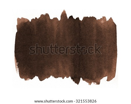 Abstract Watercolour background , Banner - stock photo
