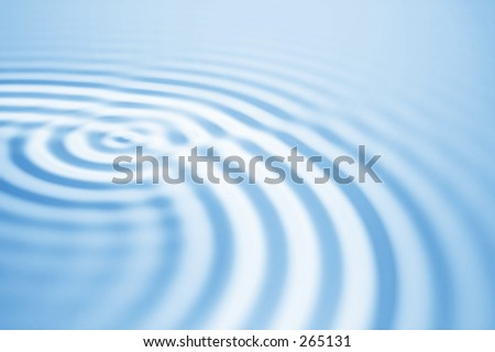 Abstract Waves III - stock photo