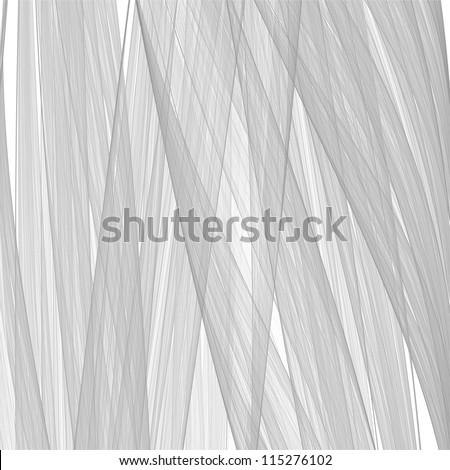 Abstract wavy lines. - stock photo