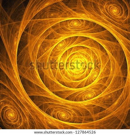 Abstract wavy lines background. - stock photo