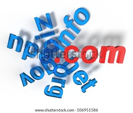 Abstract web concept - stock photo