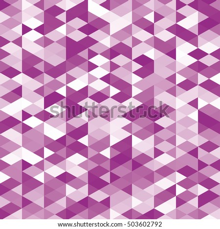 Abstract web pink raster background. Geometric simple print. Vector repeating texture.