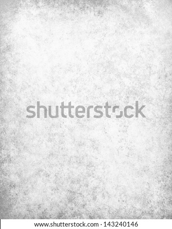 abstract white background gray parchment texture or soft distressed vintage texture on old faded white paper for elegant brochure or website template design, linen canvas texture in gray or silver - stock photo