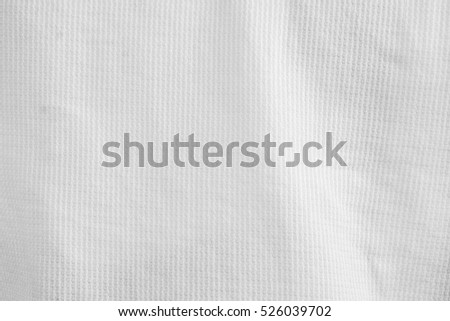 abstract white textile background, cloth texture