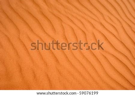 Abstract Wind Patterns in Sand