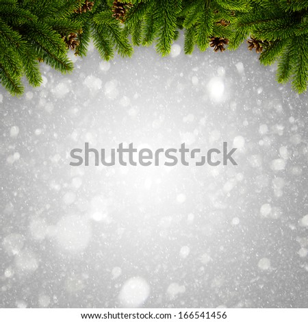 Abstract winter and Xmas backgrounds for your design - stock photo