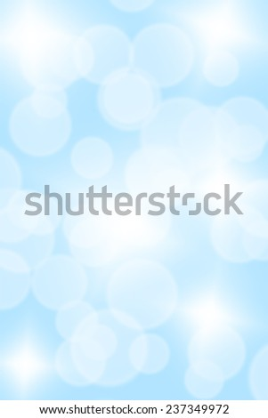 abstract winter blue cyan background - stock photo