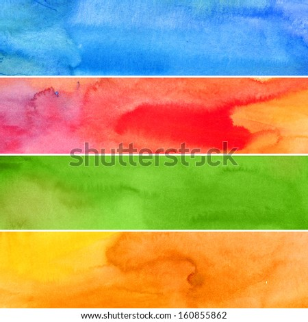 abstract winter, spring, summer, autumn background - stock photo