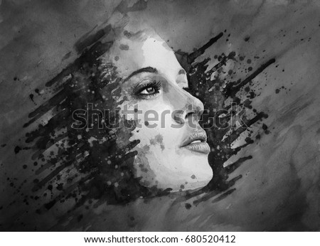 Abstract Woman Stock Images, Royalty-Free Images & Vectors ...