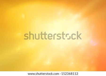 abstract yellow and orange  background as a design element