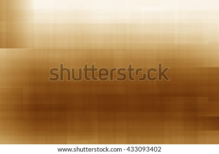 abstract yellow lines square background - stock photo