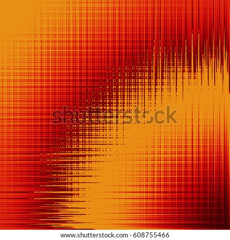 abstract yellow-red background with wave stripe
