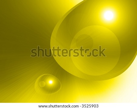 abstract yellow speed - stock photo