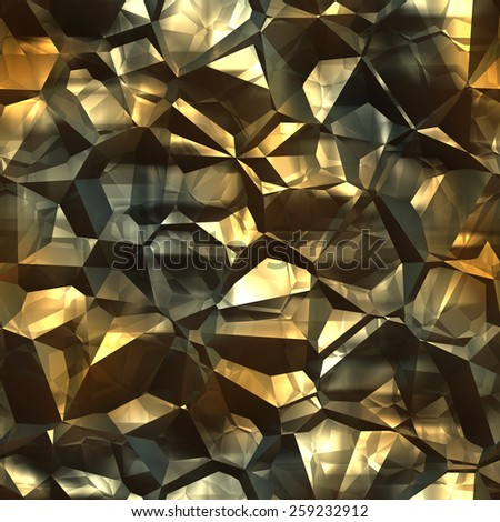 Abstract yellow stone pattern seamless texture background.