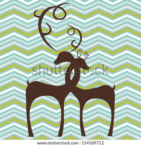 abstract zig zag background - stock photo