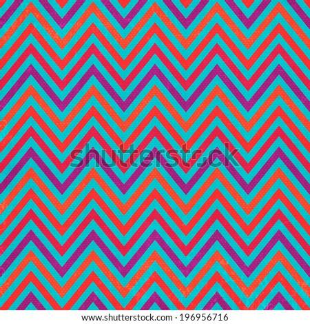 abstract zig zag textured  background - stock photo